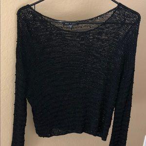 Pullover sheer sweater by velvet heart #134